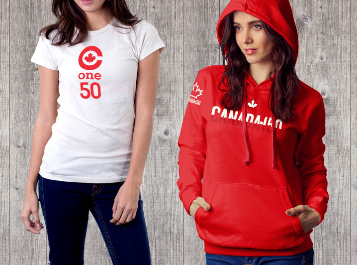 Canada 150 merchandise for woman